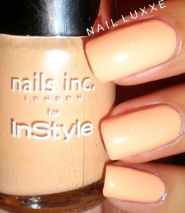 You're a Peach Nails Inc Instyle